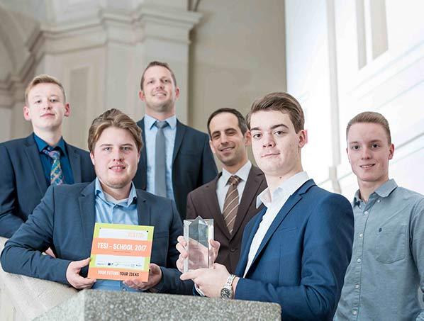 Winning team YES! 2017 - BBS Wirtschaft 1 Ludwigshafen