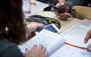 Mathe-Unterricht mit Smartphone