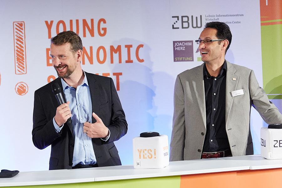 Dr. Wolf Prieß und Dr. Willi Scholz