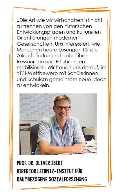 Prof. Dr. Oliver Ibert, Direktor des IRS