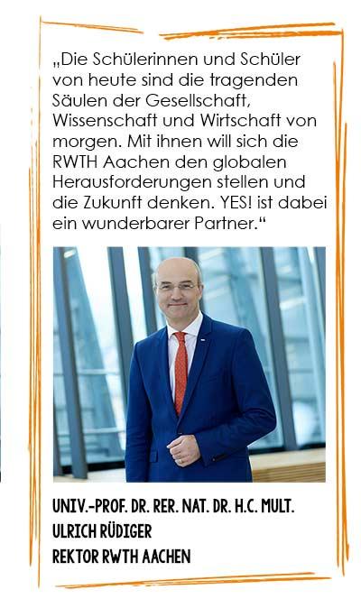Ulrich Rüdiger, RWTH